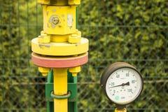 Газовые счетчики Стоковое Фото