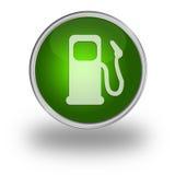 газовый насос кнопки 3d Стоковая Фотография RF