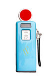 газовый насос ретро Стоковая Фотография