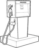 газовый насос Стоковое Изображение RF