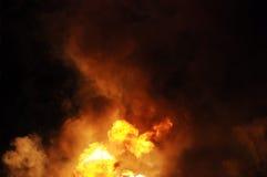 газолин пожара стоковая фотография rf