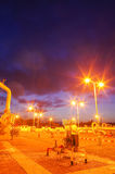 Газопровод на ноче Стоковая Фотография RF