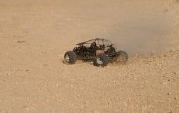 газ автомобиля участвуя в гонке rc Стоковая Фотография