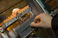 газ боилера Стоковые Изображения RF