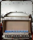 газ боилера стоковое изображение rf
