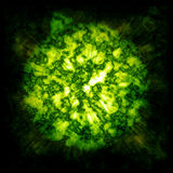газ взрыва облака Стоковое Фото