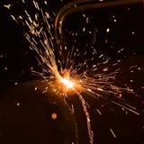 газ вырезывания Стоковые Изображения
