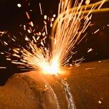 газ вырезывания Стоковое Изображение