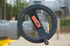 Газ и масло блока управления клапана Стоковая Фотография RF