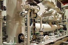 газ компрессора Стоковые Изображения RF