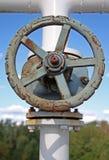 газ крана  Стоковые Фотографии RF