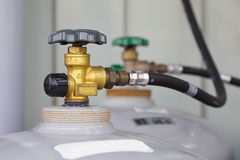 газ клапана Стоковая Фотография RF
