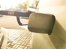 Газ машины нефти дозаправляя Стоковое Изображение RF