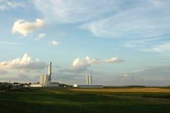 газ фабрики Стоковые Изображения RF