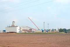 газ фабрики Стоковая Фотография