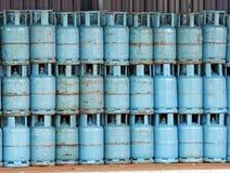 газ цилиндра Стоковое Изображение