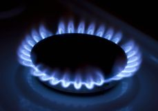 газ Стоковое Фото
