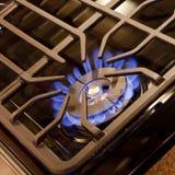 газ cooktop горелки стоковые фотографии rf