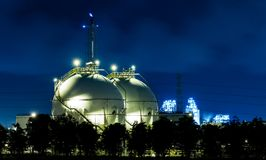 Газ LPG Стоковое Фото