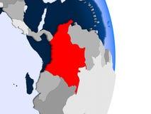 Гаити на глобусе бесплатная иллюстрация