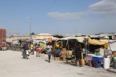 Гаитянская и доминиканская граница Стоковое фото RF