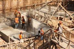 Гаитянская строительная площадка Стоковые Изображения RF