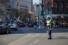 Гаишник Нью-Йорка стоковое изображение