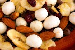 гайка смешивания macadamia Стоковые Фотографии RF