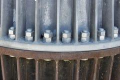 Гайки - и - болты больших размеров Стоковая Фотография RF