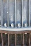 Гайки - и - болты крепления metal конструкция Стоковое Изображение