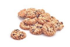 Гайки и печенья плодоовощей стоковые изображения rf