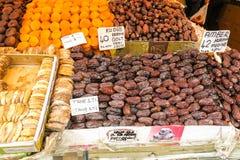 Гайки и специи Ried в Istambul, Турции Стоковое Фото