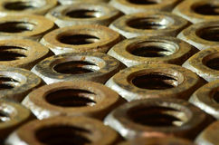 гайки ржавые Стоковое фото RF