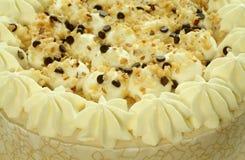 гайки сливк шоколада торта Стоковое Изображение RF