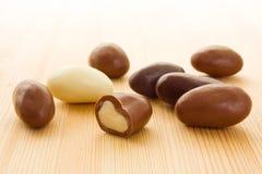 гайки шоколада Бразилии Стоковое Изображение RF