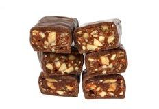 гайки шоколада конфеты Стоковое Изображение RF