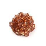 гайки шоколада конфеты Стоковое фото RF