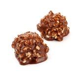 гайки шоколада конфеты Стоковые Изображения RF