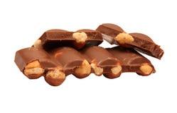 гайки шоколада Стоковое Изображение