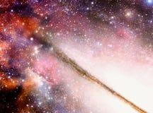 галактика внутрь Стоковое фото RF
