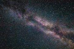 Галактика в вселенной, предпосылка млечного пути космоса Стоковое Фото