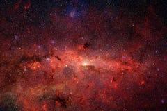 Галактика где-то в космическом пространстве Элементы этого изображения поставленные NASA иллюстрация штока
