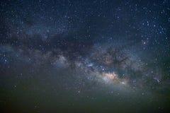 Галактика млечного пути на пустыне смолки, Jaisalmer, Индии стоковое изображение