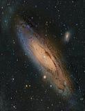 Галактика Andromeda M31 стоковое фото rf