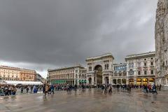 Галерея Vittorio Emanuele II - милан, Италия стоковое изображение rf