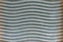 Гальванизированный washboard как предпосылка горизонтальная Стоковые Изображения RF