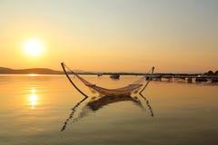 Гамак в море Стоковые Фотографии RF