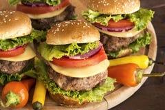 Гамбургеры стоковое изображение rf