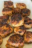 Гамбургеры свежие от гриля Стоковое фото RF