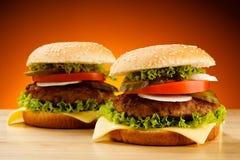 Гамбургеры Стоковая Фотография RF